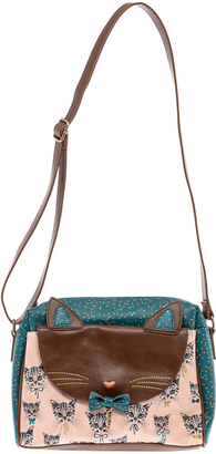 House of Disaster Meow Satchel Bag $70 thestylecure.com