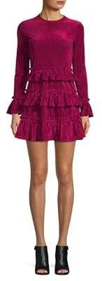 The Fifth Label Hearts Collide Adore Velvet A-Line Dress