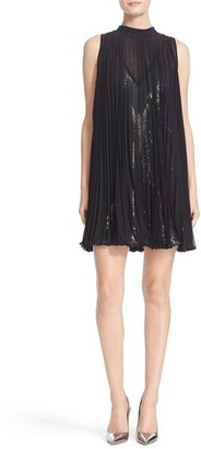 Women's Tracy Reese Pleated Overlay Dress $398 thestylecure.com