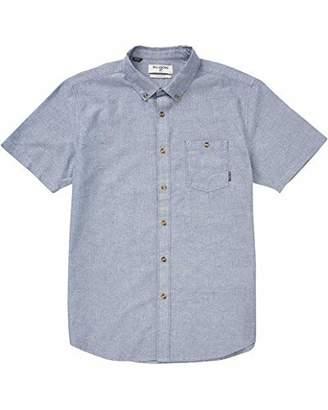 Billabong Men's All Day Short Sleeve Woven Shirt