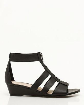 0d8da51aedd0 Black Gladiator Wedge Sandals - ShopStyle Canada