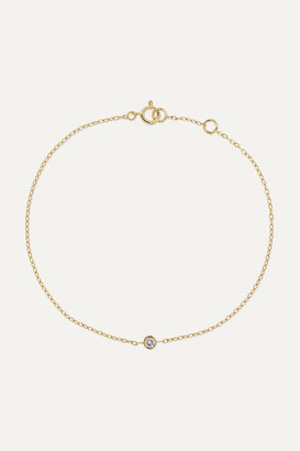 STONE AND STRAND 14-karat Gold Diamond Bracelet