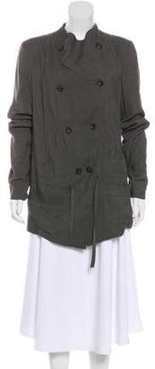 Helmut Lang Double-Breasted Lightweight Jacket