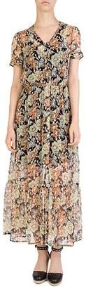 The Kooples Wanted Floral-Print Maxi Dress