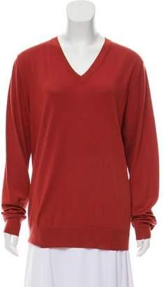 Hermes Wool V-Neck Sweater
