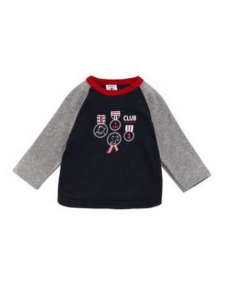 Petit Bateau Raglan Graphic T-Shirt, Size 3-36 Months