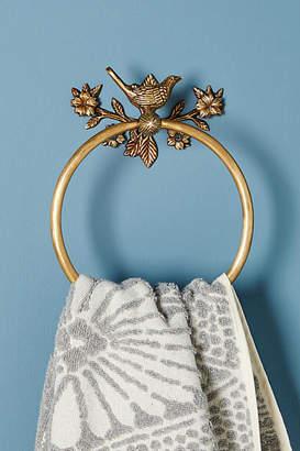 Anthropologie Everlee Towel Ring