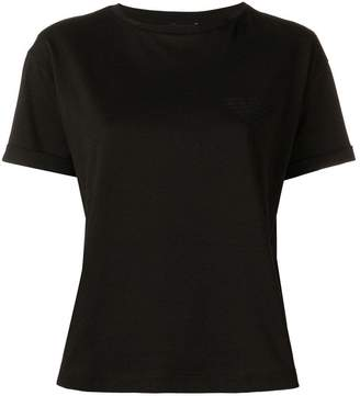 Emporio Armani sequinned logo T-shirt