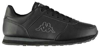 Kids Persaro DLX Junior Trainers Low Lace Up Leather Upper