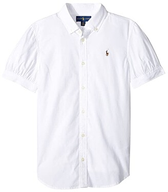 Polo Ralph Lauren Solid Oxford Shirt (Big Kids)