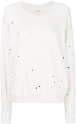 The Great paint splat sweatshirt