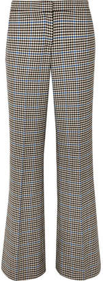 J.W.Anderson Houndstooth Wool And Cotton-blend Flared Pants