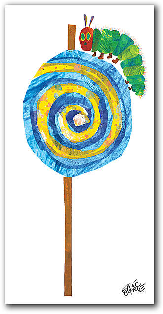 Eric Carle's Caterpillar Lollipop Wall Art