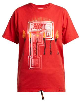 Couture Noki - Customised Street T Shirt - Womens - Red Multi