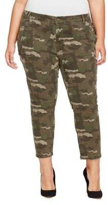 William Rast Plus Cropped Skinny Cargo Pants