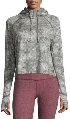 The North Face Motivation Performance Hoodie, Asphalt Gray Jacquard $65 thestylecure.com