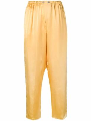 Forte Forte high-waist wide leg trousers