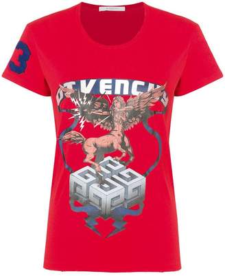 Givenchy front printed T-shirt