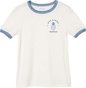 RVCA Women's Rvcaloha Ringer T-Shirt