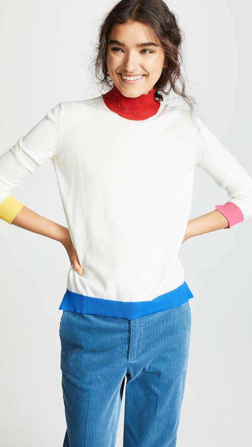 High Neck Elva Wool Sweater