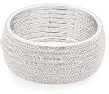 Adriana Orsini Crystal Multi-Row Bracelet