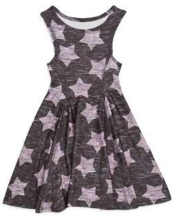 Terez Little Girl's Star Fit-And-Flare Dress