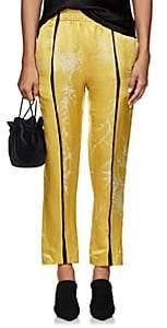 Haider Ackermann Women's Floral Linen-Silk Relaxed Pants-Yellow