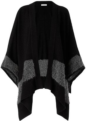 Teddy Wool Blanket Wrap $398 thestylecure.com