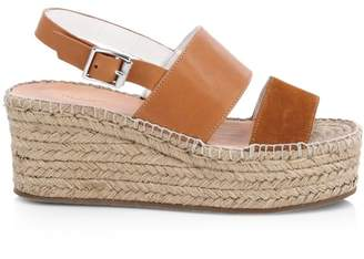 0dfc73e64284 Rag   Bone Edie Leather Espadrille Platform Wedge Sandals