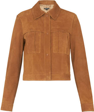 Whistles Colbert Suede Leather Jacket