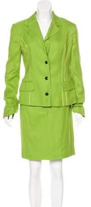 Dolce & Gabbana Notch-Lapel Skirt Suit