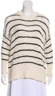 IRO Striped Rib Knit Sweater