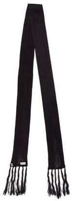 Christian Dior Knit Silk Scarf