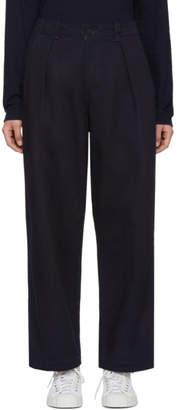 Blue Blue Japan Indigo Pin-Tuck Work Trousers