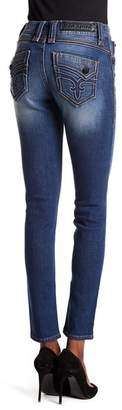 Rock Revival Mid Rise Skinny Jeans