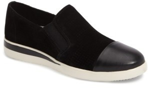 Women's Ed Ellen Degeneres Aviana Cap Toe Slip-On Sneaker $128.95 thestylecure.com