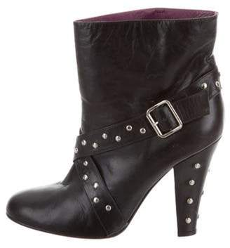 Marc Jacobs High-Heel Ankle Boots Black High-Heel Ankle Boots