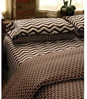 Twinkle Living Lego Brown Bedding