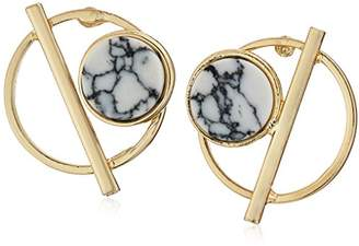 Danielle Nicole Posh Stud Earrings