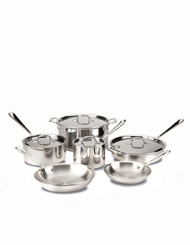 All-CladAll-Clad 10 Piece Stainless Steel Cookware Set
