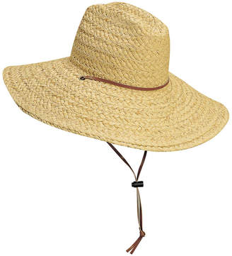 Dorfman Pacific Stetson Men's Raffia Lifeguard Hat