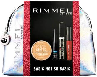 Rimmel Basic Not So Basic - Stay Matte Powder, Stay Matte LL, Mascara, Eyeliner (Worth £20)