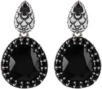 Mistero By Albert M Mistero Sterling Silver Multi-Gemstone Dangle Earrings