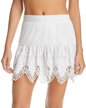 Peixoto Anassa Embroidered Skirt