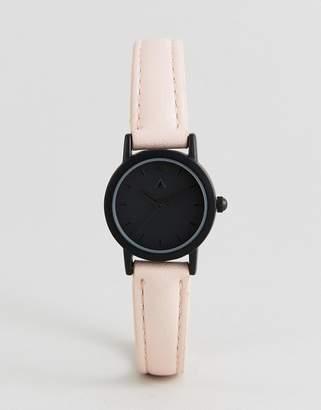 Asos Mini Tonal Face and Blush Strap Watch