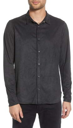 John Varvatos Slim Fit Snap-Front Shirt