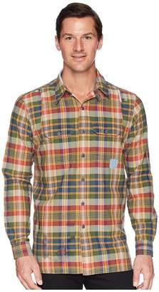 Polo Ralph Lauren Madras Compass Long Sleeve Sport Shirt Men's Clothing