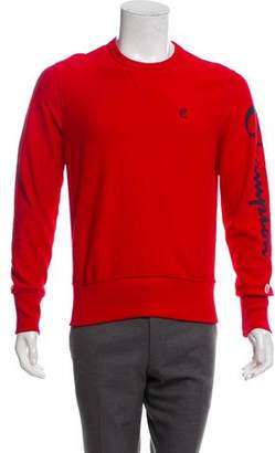 Todd Snyder x Champion Rib Knit Crew Neck Sweater