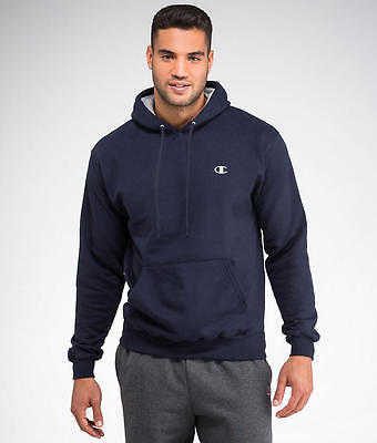 Champion Eco Fleece Pullover Hoodie Sweatshirt Activewear - Men's