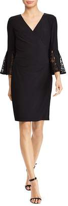 Ralph Lauren Bell-Sleeve Dress